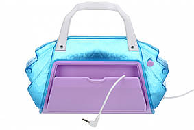 Портативная акустика eKids Disney Frozen, караоке, Lights flash, mini-jack, фото 2