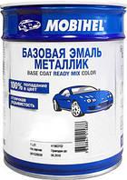 434 Голубая Молния  MOBIHEL базовая емаль металик 1л.