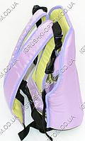 Рюкзак-кенгуру сидя,цвет сиреневый(7) (Арт.25139)