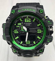 Спортивные наручные часы Casio G-Shock GWG-1000 Black Green Касио реплика