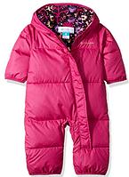 Зимний пуховый комбинезон Columbia Snuggly Bunny Bunting для девочки 0-3мес 0988dbf124db0