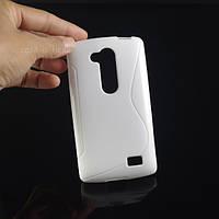 Чехол для LG L Fino D295 Белый