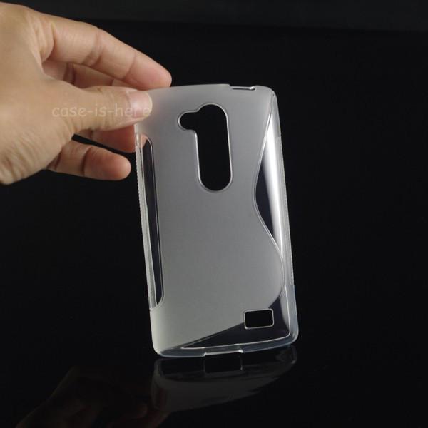 Чехол для LG L Fino D295 Прозрачный