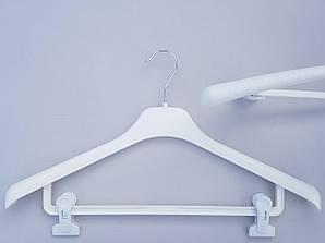 Длина 46 см. Плечики вешалки пластмассовые V-Tz46 белые