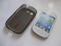 Чехол-накладка для Samsung Galaxy Star Duos, S5282, S5280 ультратонкий силиконовый, Черный /case/кейс /самсунг галакси