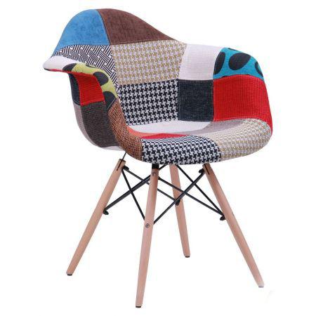 Кресло лофт Salex FB Wood Patchwork, TM AMF