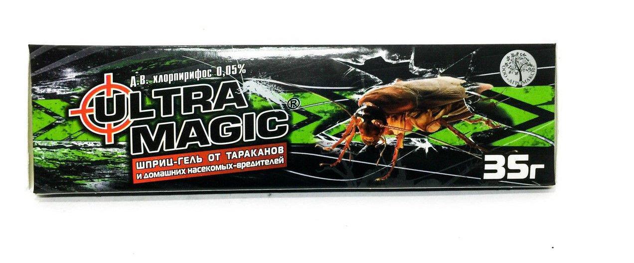 Ультра магик 35г. от тараканов шприц гель