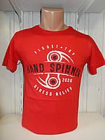 Футболка мужская ENISTE Hand Spiner, стрейч 002 \ купить футболку мужскую оптом