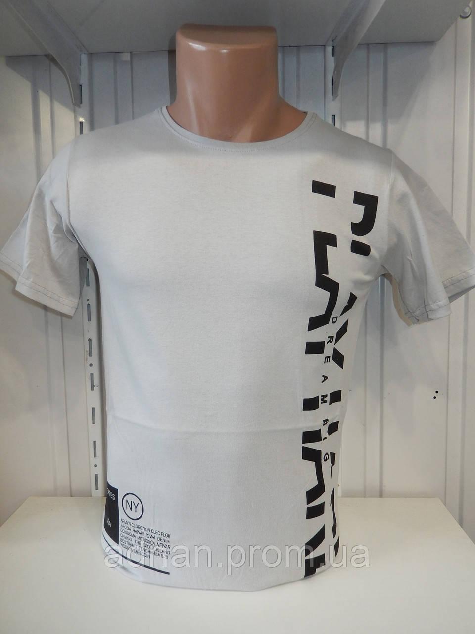 Футболка мужская ENISTE PLAY, стрейч 007 \ купить футболку мужскую оптом