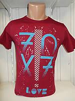 Футболка мужская ENISTE 70X7 стрейч 005 \ купить футболку мужскую оптом