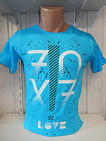 Футболка мужская ENISTE 70X7 стрейч 006 \ купить футболку мужскую оптом
