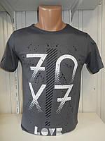 Футболка мужская ENISTE 70X7 стрейч 007 \ купить футболку мужскую оптом