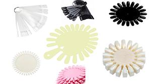 Планшеты для дизайна, палитры для образцов, веера