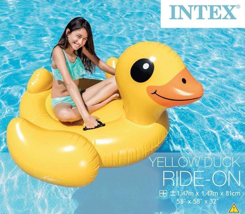 Плотик надувной Intex 57556 Желтая уточка