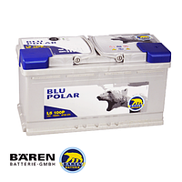 Автомобильные аккумуляторы BAREN BLU POLAR 6СТ- 100Аз 870А R