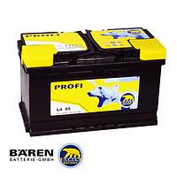 Автомобильные аккумуляторы BAREN PROFI 6СТ- 95Аз 850А R
