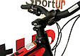 """Горный велосипед ARDIS DINAMIC 2.0 HB MTB 26"""" 15,5""""  Черный/Красный, фото 9"""