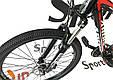 """Горный велосипед ARDIS DINAMIC 2.0 HB MTB 26"""" 15,5""""  Черный/Красный, фото 5"""