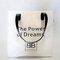 Превосходная женская сумочка из экокожи белого цвета KBY-066922, фото 1