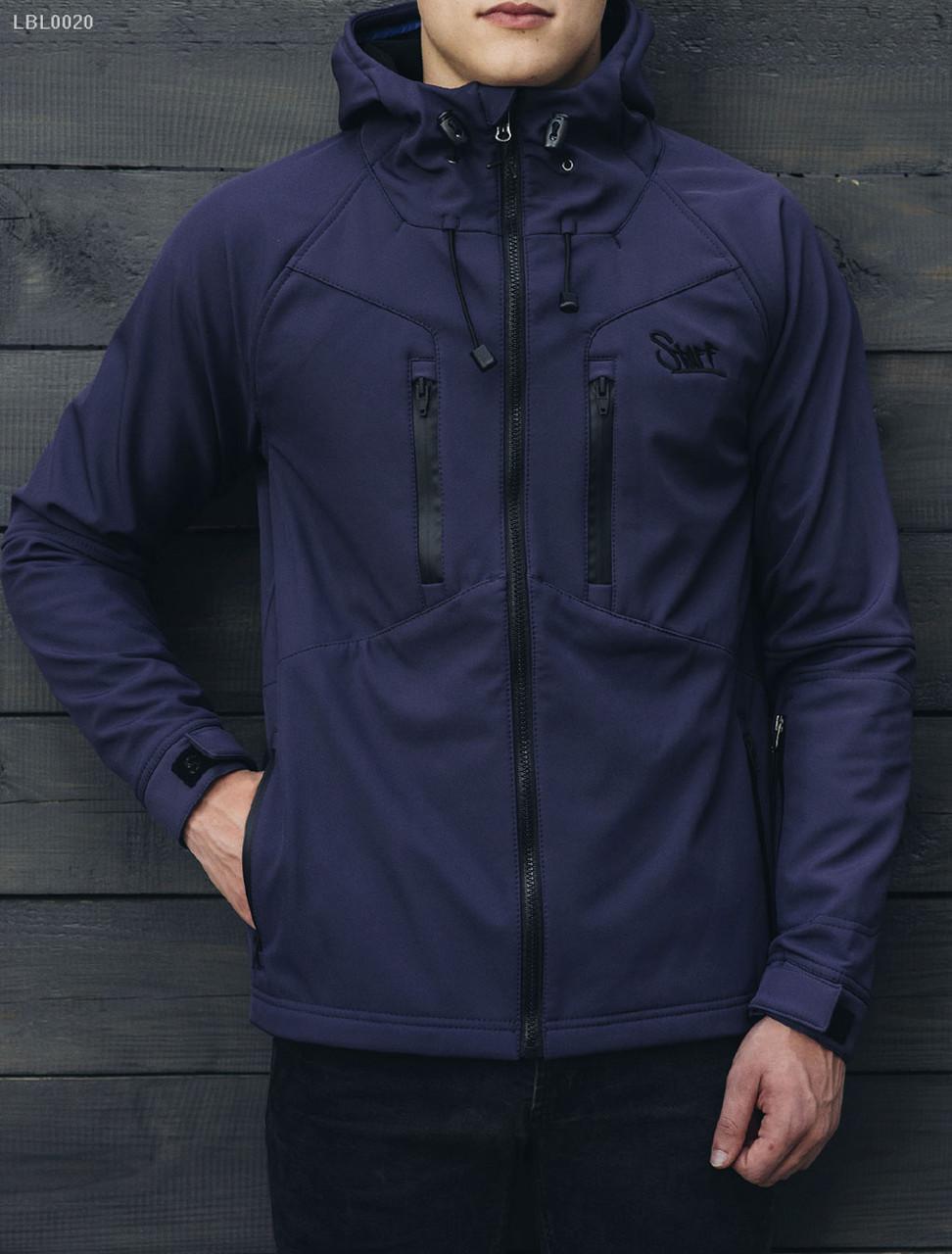 Куртка Staff - Soft shell navy Art. LBL0020 (Размеры - XXL)  заказ ... 1b20faf987f71