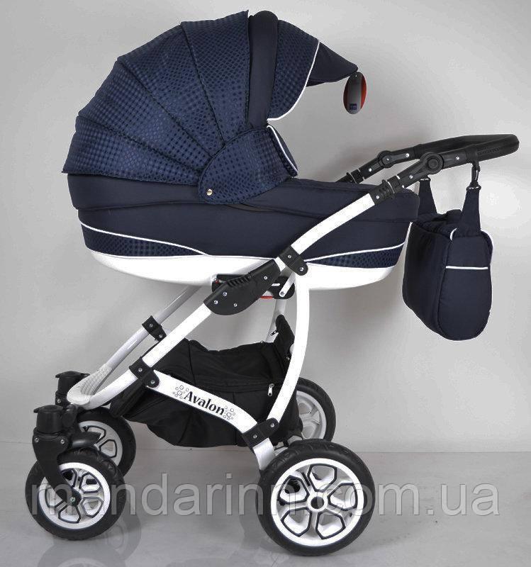 """Детская коляска универсальная 2 в 1 """"AVALON"""" Blue"""