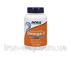 NOW Omega 3 - 100 softgel
