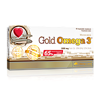 Olimp Labs Gold Omega-3 (65%) + vit E 60 caps