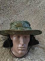 Камуфляжная панама hunter (варан) с сеткой