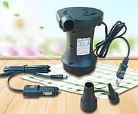 Насос электрический 12V+220V HT-458