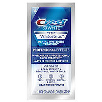 Полоски №1 для отбеливания зубов в домашних условиях «Crest Whitestrips 3D White Professional Effects No Slip»