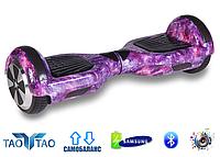 """Гироборд Smart Balance Wheel 6,5"""" TaoTao, Космос фиолетовый"""