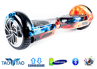 """Гироборд Smart Balance Wheel 6,5"""" TaoTao, Огонь и лёд"""