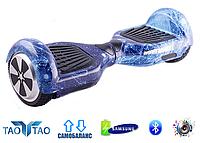 "Гироборд Smart Balance Wheel 6,5"" TaoTao, Космос синий"