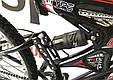 """Гірський велосипед ARDIS INFINITY AMT 26"""" 19"""" Чорний/Червоний, фото 6"""