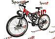"""Гірський велосипед ARDIS INFINITY AMT 26"""" 19"""" Чорний/Червоний, фото 2"""