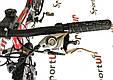 """Гірський велосипед ARDIS INFINITY AMT 26"""" 19"""" Чорний/Червоний, фото 10"""