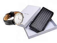 Мужской клатч в Стиле Cаlvin Klеin+ Часы в подарок!