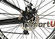 """Гірський велосипед ARDIS INFINITY AMT 26"""" 19"""" Чорний/Червоний, фото 9"""