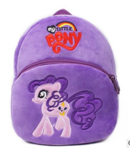 Детский мягкий рюкзак для девочки 2-4 года MLP My Little Pony Май Литл Пони
