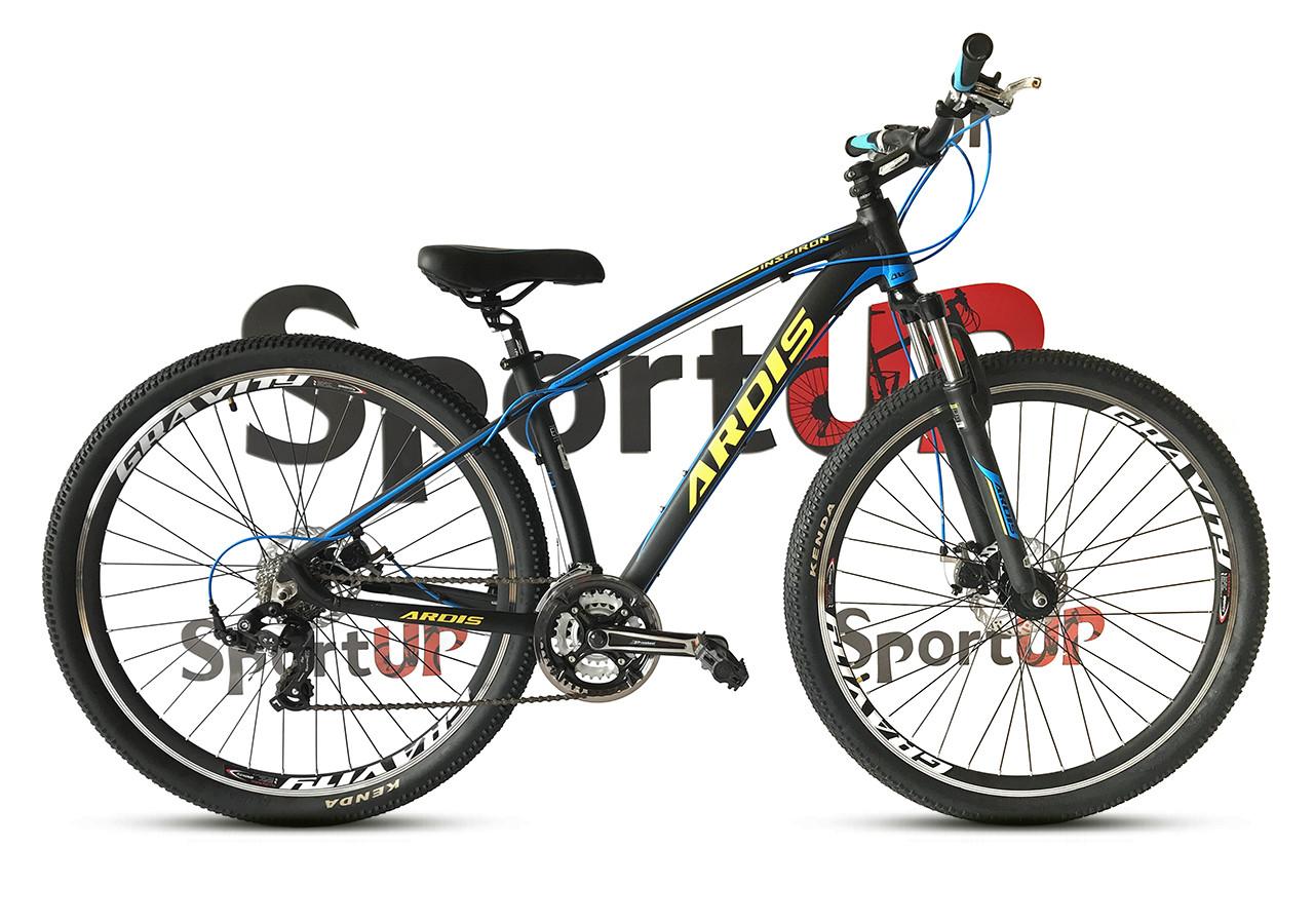 """Горный велосипед ARDIS INSPIRON MTB 29"""" 16,5"""", 21""""Черный/Синий"""