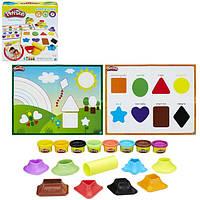 Игровой набор с пластилином Play-Doh «Цвета и формы» B3404 Hasbro