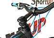 """Горный велосипед ARDIS INSPIRON MTB 29"""" 16,5"""", 21""""Черный/Синий, фото 9"""