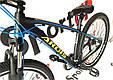 """Горный велосипед ARDIS INSPIRON MTB 29"""" 16,5"""", 21""""Черный/Синий, фото 3"""