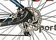 """Горный велосипед ARDIS INSPIRON MTB 29"""" 16,5"""", 21""""Черный/Синий, фото 8"""