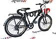 """Городской велосипед ARDIS SANTANA CTB 26"""" Черный/Коричневый, фото 4"""