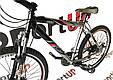 """Горный велосипед ARDIS JETIX 26"""" 19""""  Серый/Черный, фото 3"""