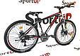 """Горный велосипед Ardis M20D R26"""" алюминиевый с дисковыми тормозами (Черно-красный), фото 4"""