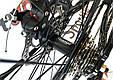 """Горный велосипед Ardis M20D R26"""" алюминиевый с дисковыми тормозами (Черно-красный), фото 6"""