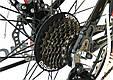 """Горный велосипед Ardis M20D R26"""" алюминиевый с дисковыми тормозами (Черно-красный), фото 7"""