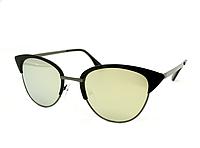 Солнцезащитные очки Aedoll Черно-зеленый (6006 black-green)